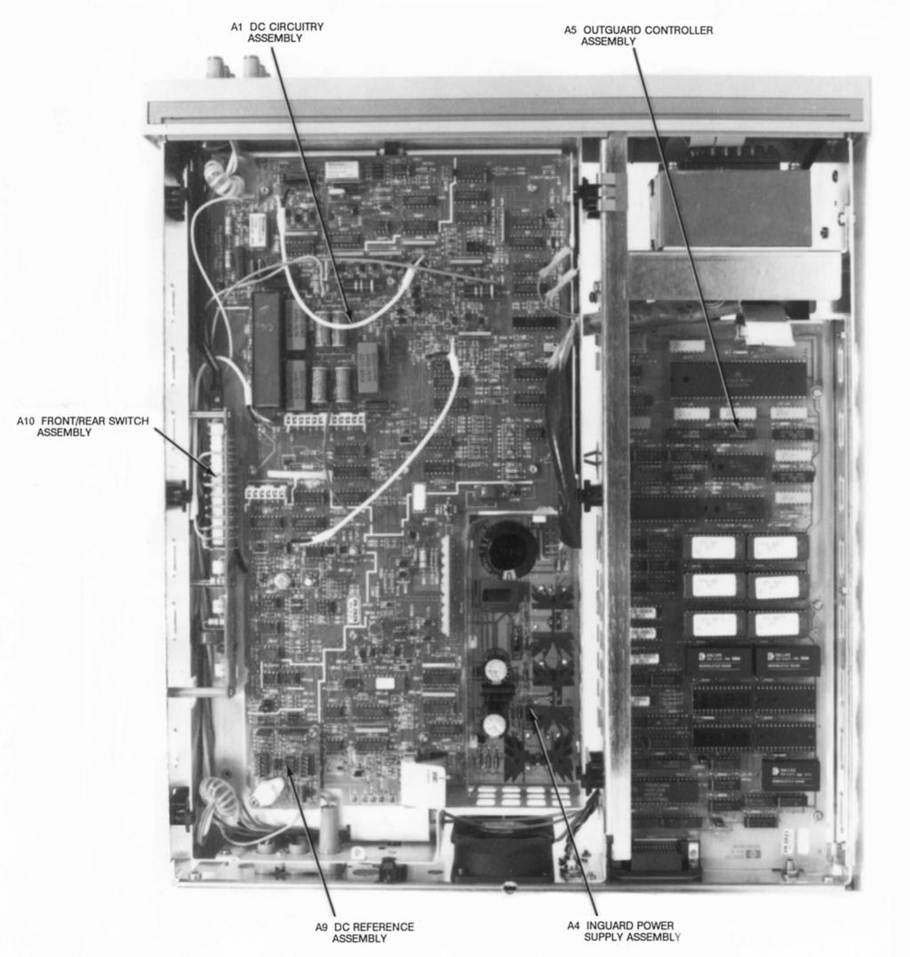 Agilent Technologies 3458a Multimeter Assembly Level Repair Manual Pdf Installed Power Supply Circuit Board Showing Components Dc Circuitry Removal Installation Procedures The Following Show How To Remove And Install