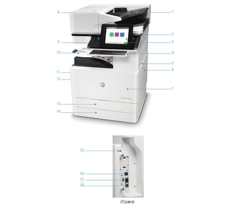 HP Color LaserJet Managed MFP E77822, E77825, E PDF