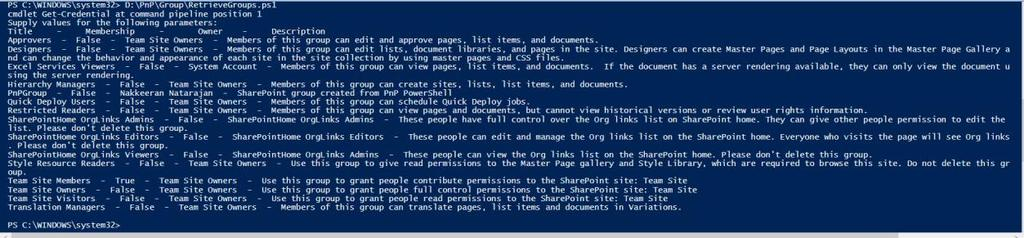 Basic Operations on SharePoint Using PnP PowerShell Scripts