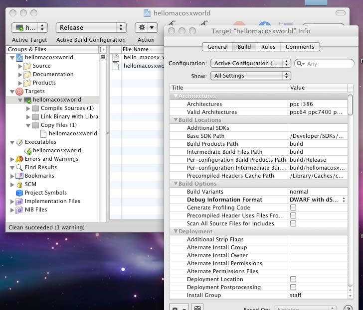 Compiling Fortran applications on a Mac