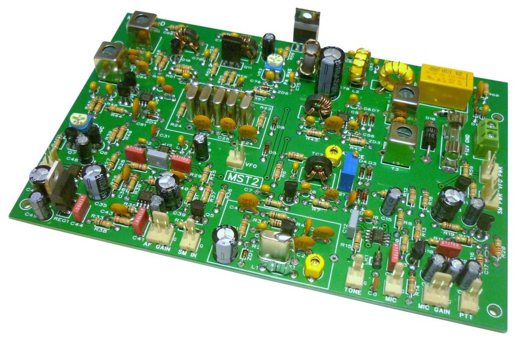 MST2 20M SSB TRANSCEIVER BOARD CONSTRUCTION MANUAL  MST2 20M
