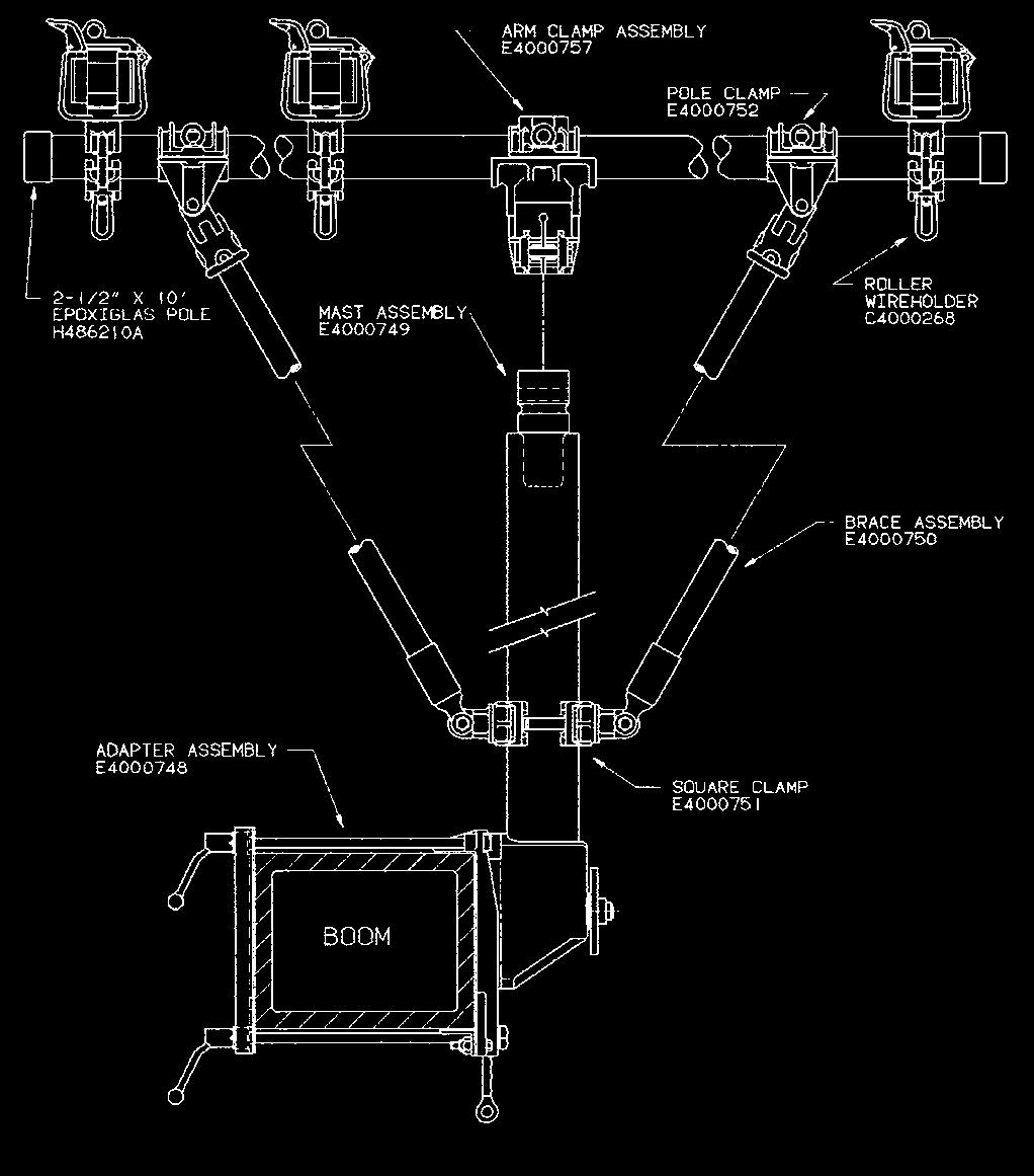 Truck Accessories Catalog 4150 November Pdf Altec Hydraulic Lift Diagram For Wiring Diameter Rope The Maximum Load Gin Is 800 Lb