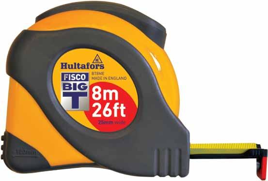 Fisco Big T Professional Tape Measure 8m 26ft