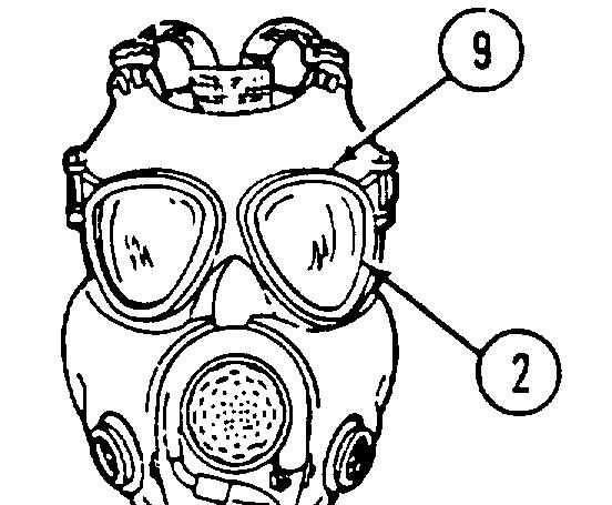 mask chemical biological field pdf Hazmat PPE Levels item no 5 item to be inspected eyelenses eyerings an
