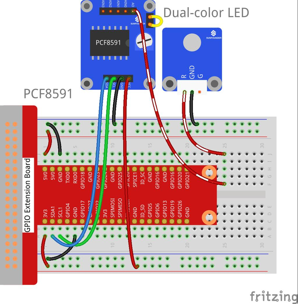Lesson 25 Ultrasonic Ranging Module 26 Ds18b20 Temperature Magneticfieldsensor Electronicslab Step 2 Drag It 1