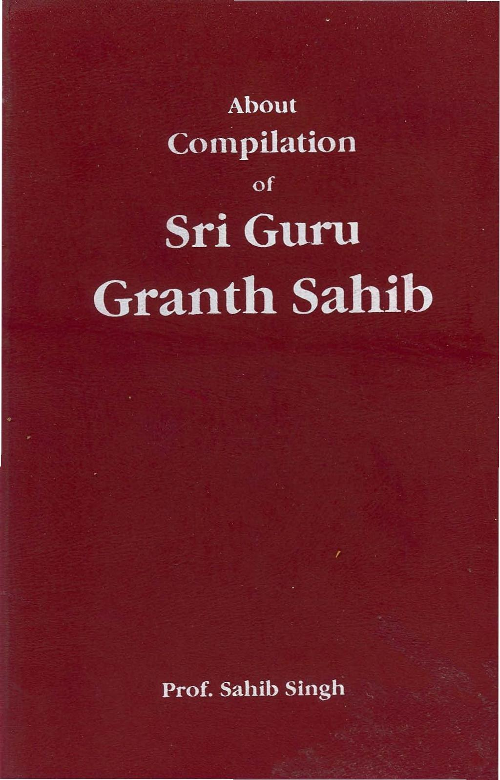 Guru Granth Sahib In Urdu Pdf
