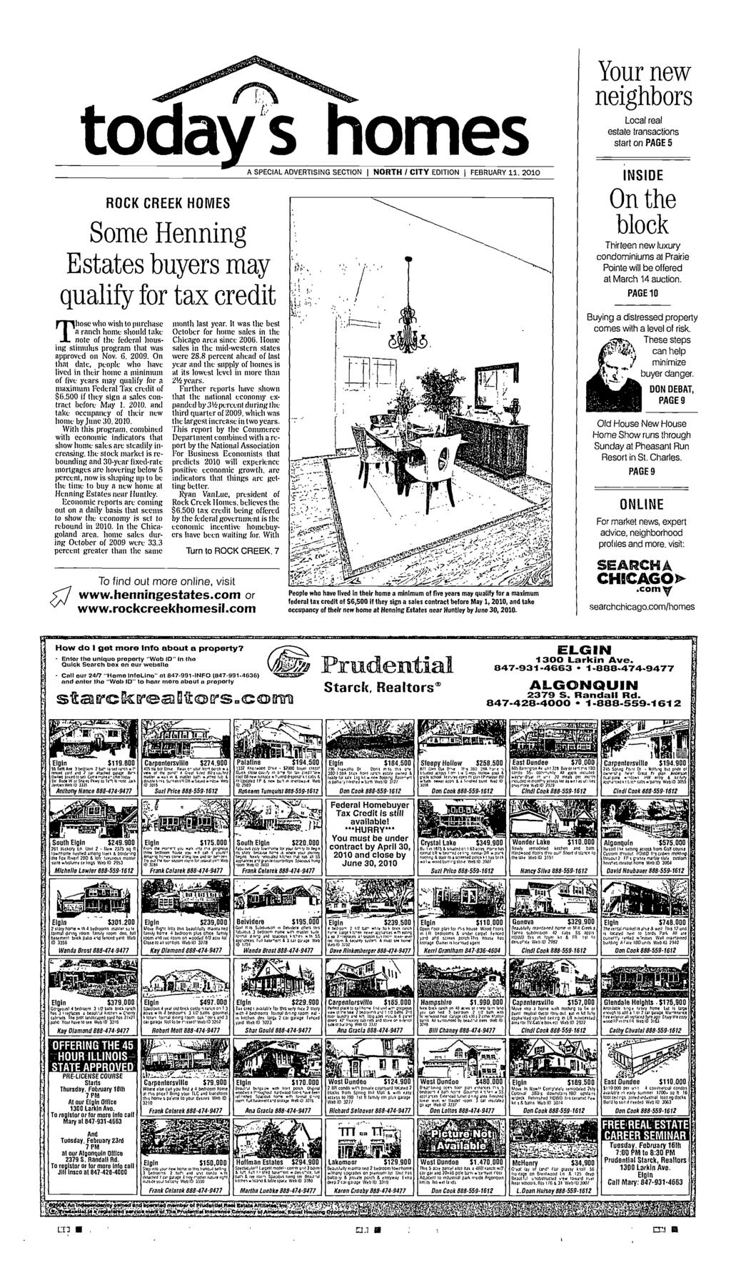 February 11 2010 A Pioneer Press Publication S200 O Yong Ma Magic Com Stainless Tenun Edition Multi Pot Mc 4450 P Merah I Todays Homes Specal Advertsng Secton North Cty Edton Feoruary Rock Creek