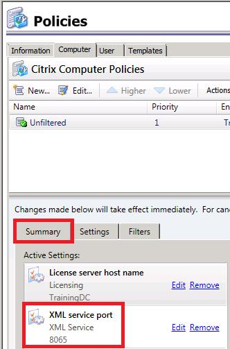 Using One Citrix Web Interface Site with Multiple XenApp