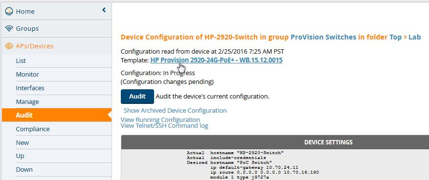 Hp 2920 24g Default Username And Password