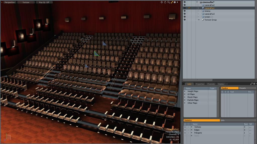 How to Create and Compile a Movie Theater FBX - PDF