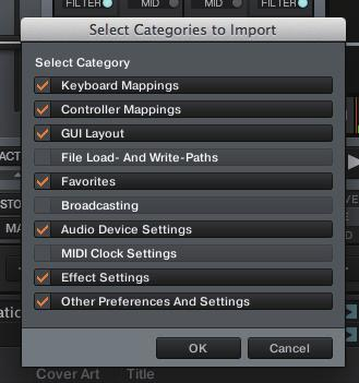 Before importing this MIDI setting file, we recommend