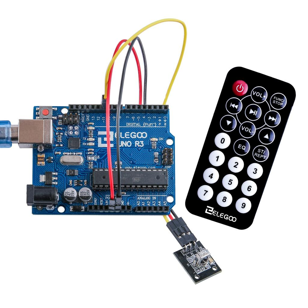 The Most Complete Starter Kit Tutorial For Uno Pdf By A Pull Chain Or In Some Newer Fans Wireless Remote There Are 3 Connections To Ir Receiver Signal Voltage