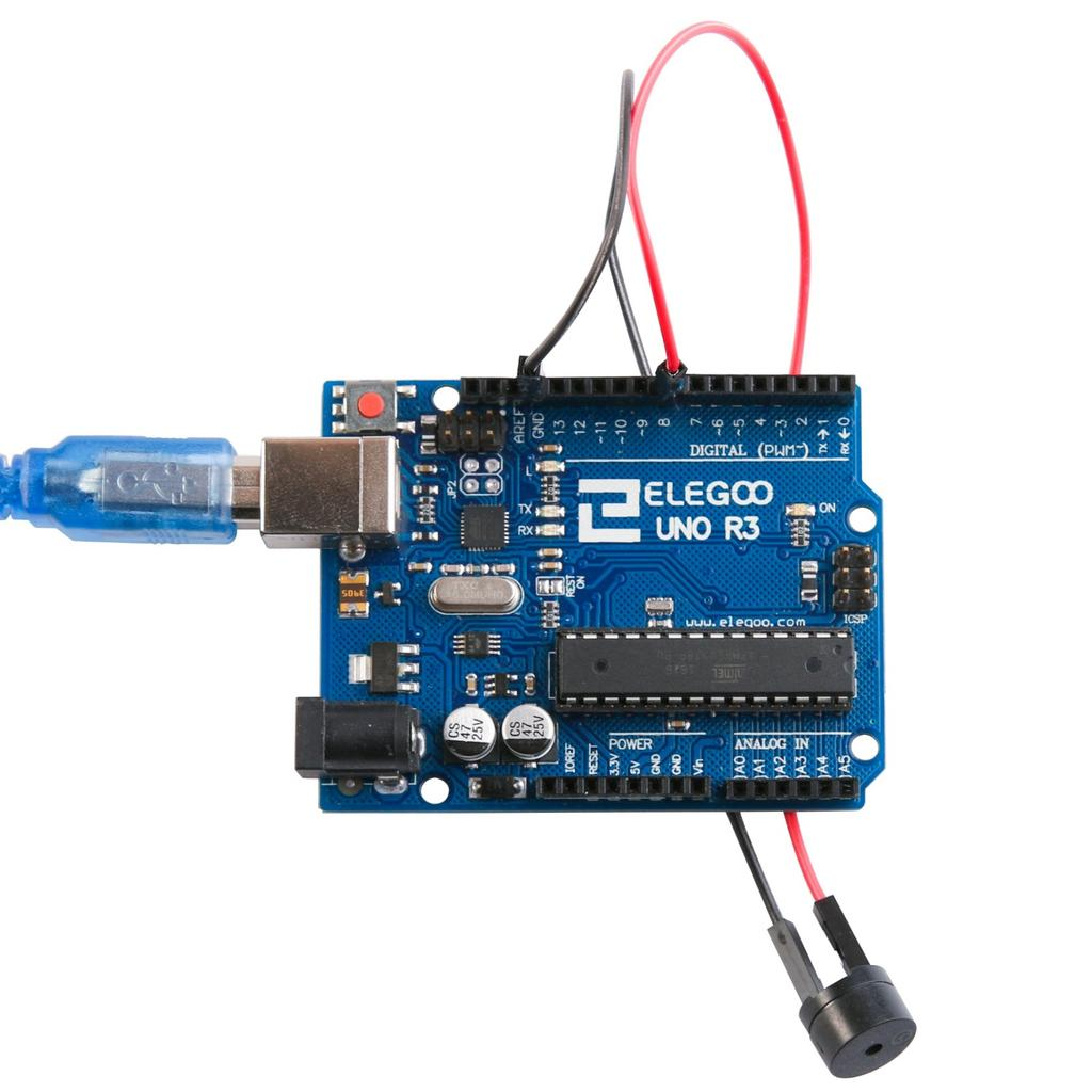 The Most Complete Starter Kit Tutorial For Uno Pdf Final Open House Reminder News Sparkfun Electronics Wiring Buzzer Connected To R3 Board Red Positive