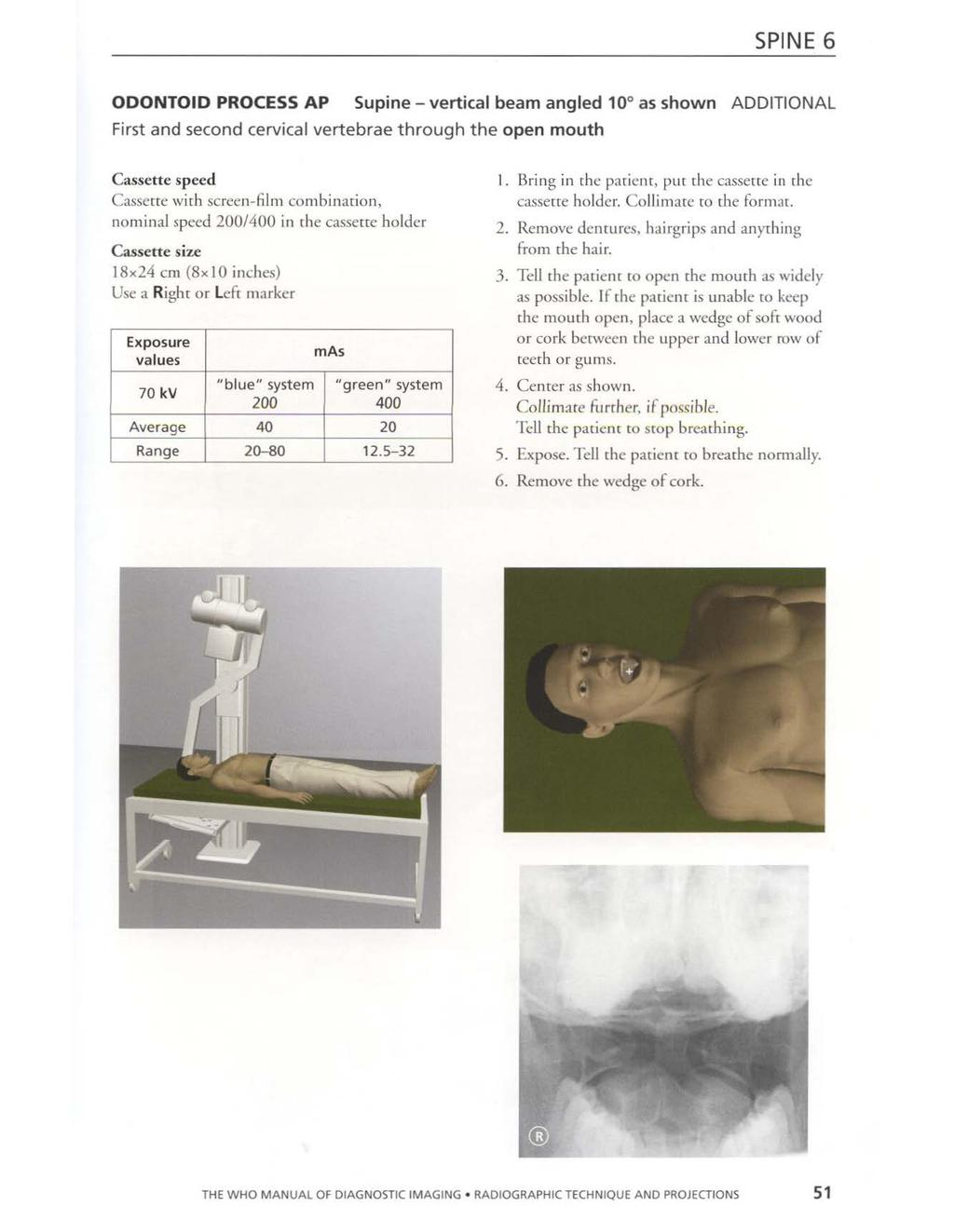 who manual of diagnostic imaging radiographic technique and projections pettersson holger ostensen harald