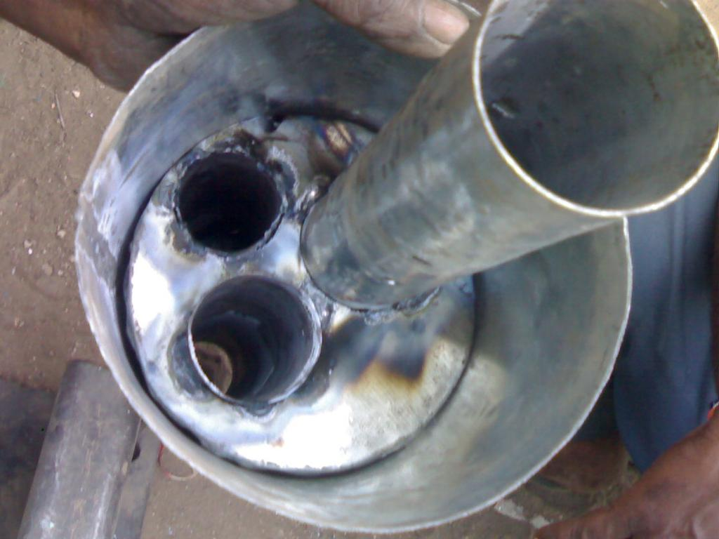 Design Of Exhaust Silencer Muffler For Transmission Losses With The Performance A Four Stroke Diesel
