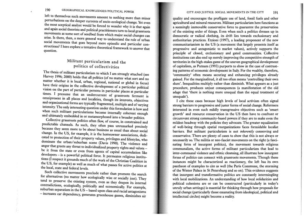 f9083a61e Spaces of Capital. David Harvey. by the same author. Routledge New York -  PDF