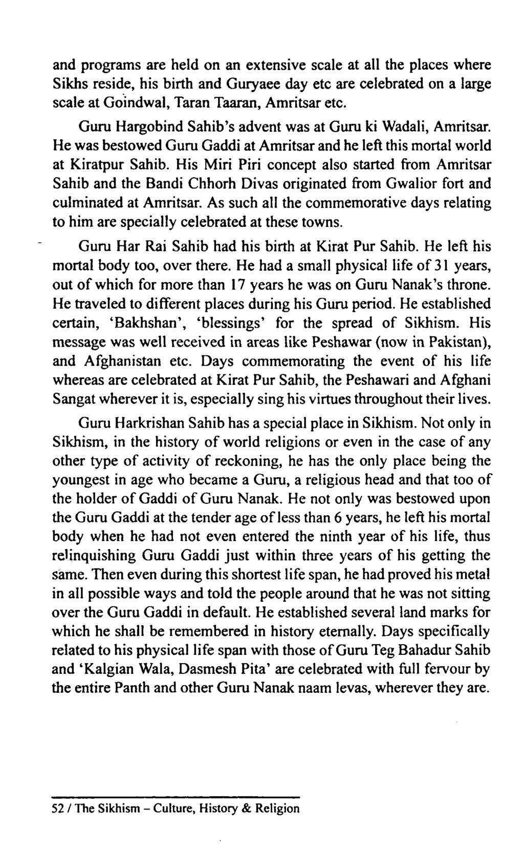 THE SIKHISM  Culture, History & Religion - PDF