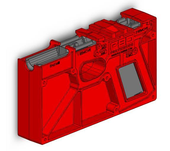 PF940C COMPACT Pistol Frame 80% Milling Instructions - PDF