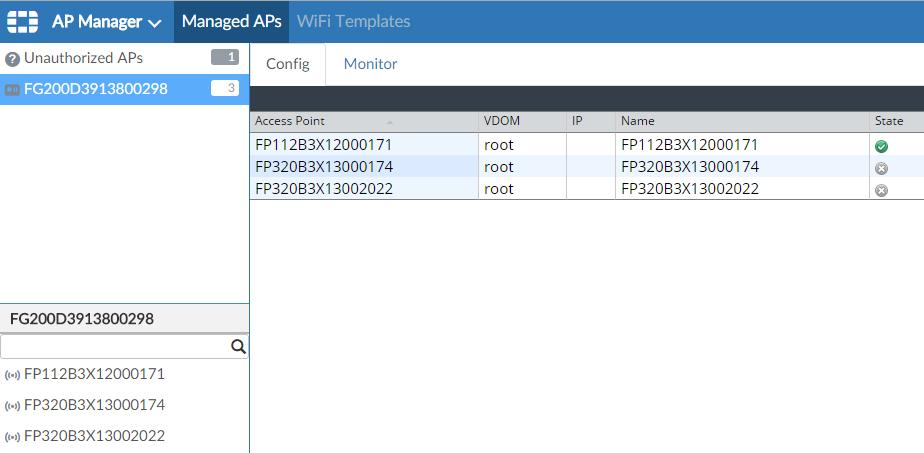 No response or fortianalyzer functionality must be enabled