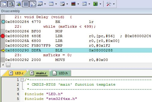 Getting started with MDK  Create applications with µvision