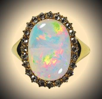 Photos by the Author Cabochon cuts Most precious opals, if virtually not all of them, were fashioned in the past in a conservative way (Figure 28).