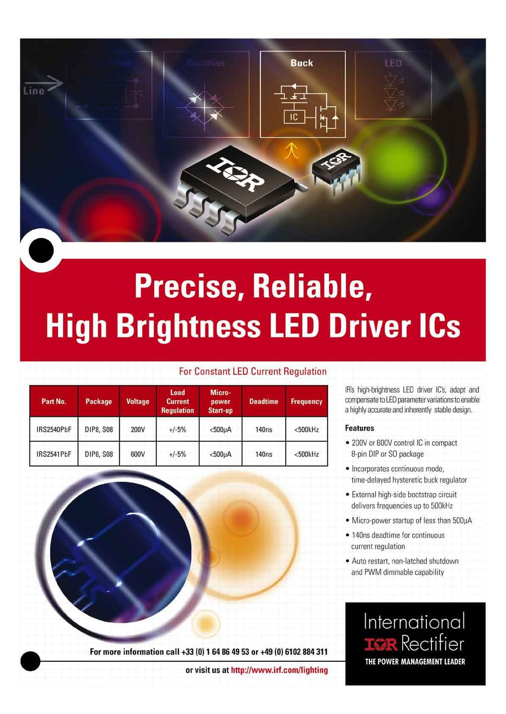 Review Led Electronics Pdf New Control Circuit Using Irs2530d Diagram 38 Professional Lpr Editorial Calendar 2009 P U B L I S H E D Issue Main Feature Reservation By Files Publication Date