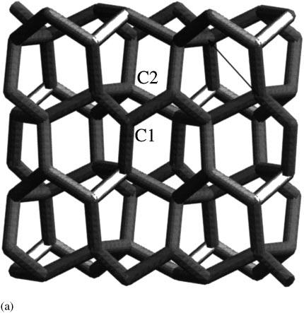 Possible 3d Carbon Structures As Progressive Intermediates In