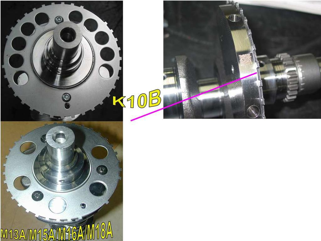 Engine Service K10b Pdf Suzuki M15a Timing Marks 112 Ckp Sensor Plate Is Similar To M S One Different