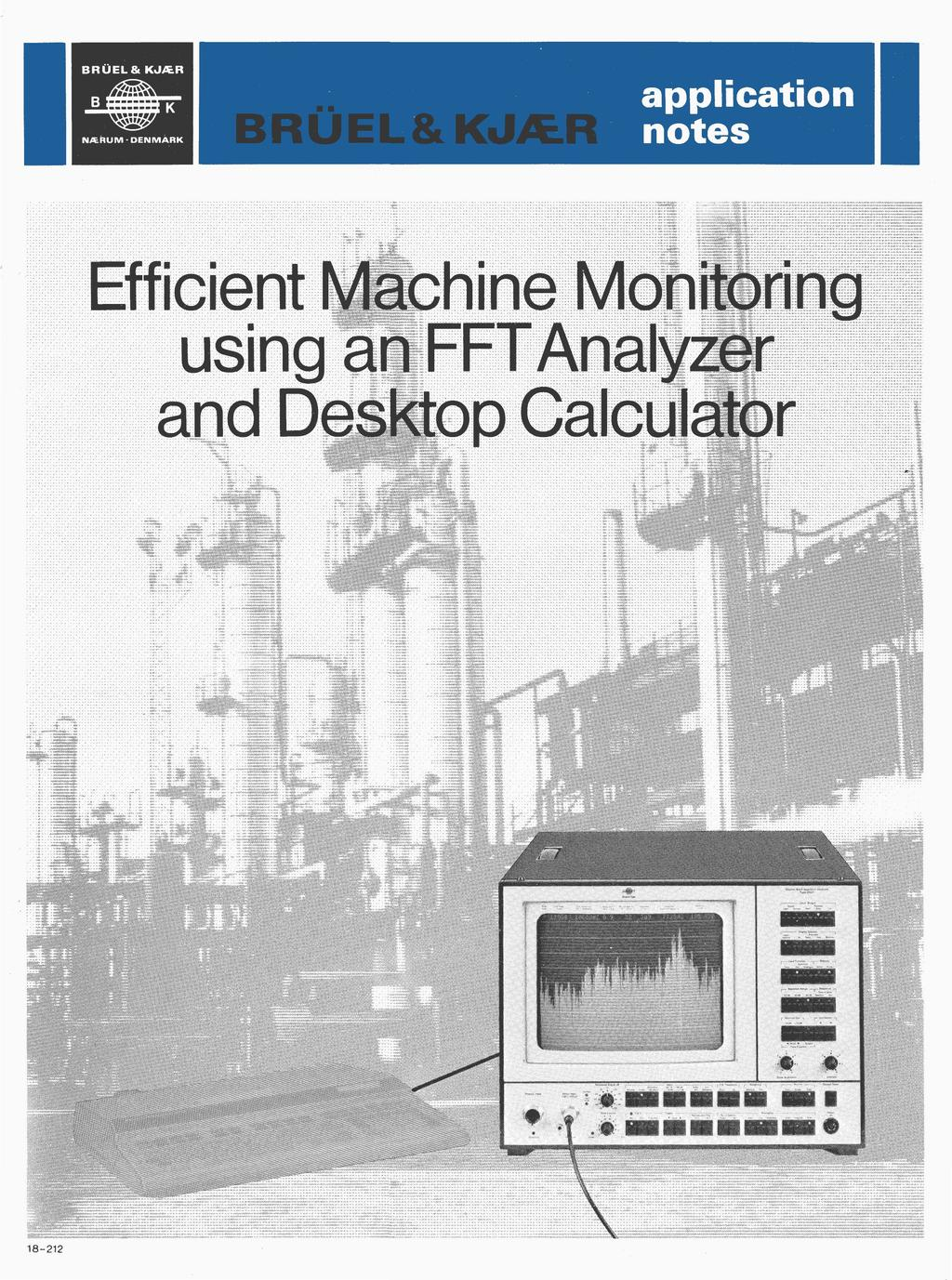 Efficient Machine Monitoring using an FFT Analyzer and Calculator - PDF