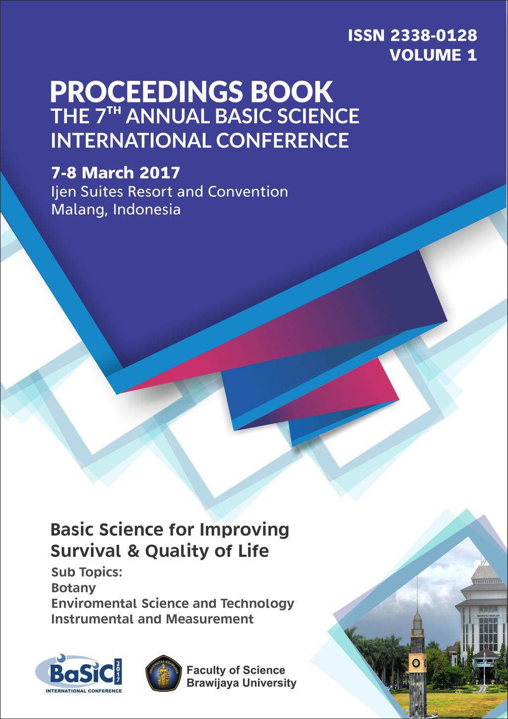 Proceedings Book The 7 Th Basic Science International Conference