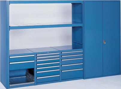 Storage Wall Wide Span Beam System Lista S Wide Span Beam Provides Storage  For