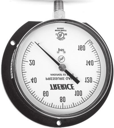 TRERICE V80025 DIAL THERMOMETER WITH 15/' LEAD -20 to 100 DEGREE