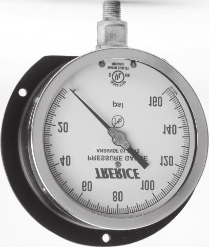 Industrial Thermometers Dial Thermometers Bimetal Thermometers