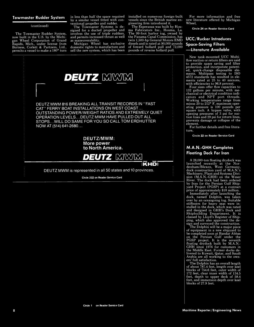 MARITIME REPORTER AND ENGINEERING NEWS JANUARY 1,1986 ISSUE - PDF