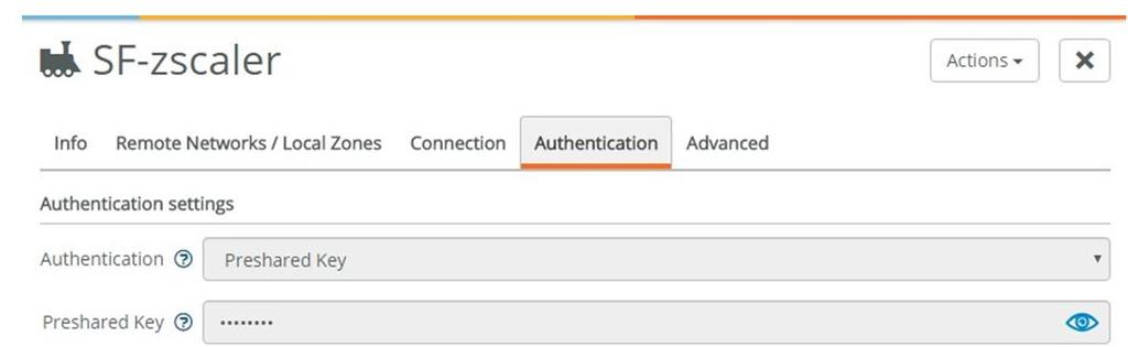 Riverbed SD-WAN SteelConnect gateway Classic VPN with