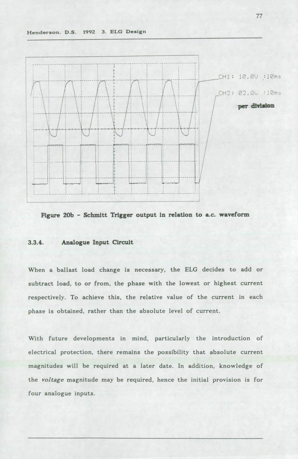 A Three Phase Electronic Load Governor For Micro Hydro Generation Motor Additionally Bodine Electric Wiring Diagram Also Thermal Vjfa Henderson Ds 1992 3 Elg Design R