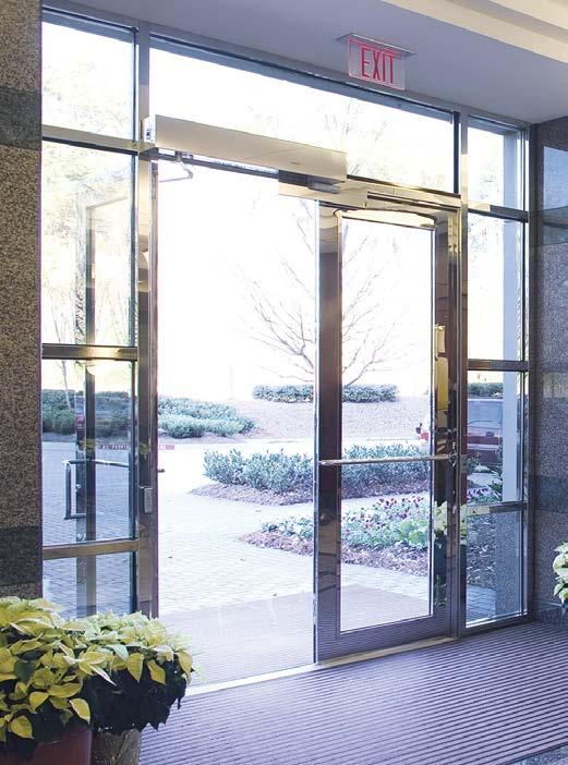 ADVANCED AUTOMATIC DOOR SOLUTIONS  Enabling Better Buildings