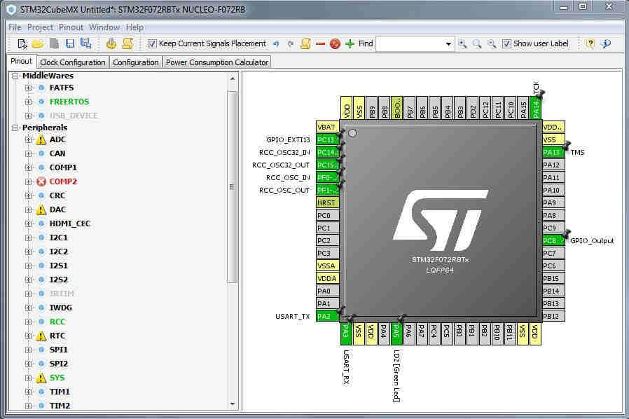 GPIO Interrupts (EXTI) on STM32 Microcontrollers using HAL