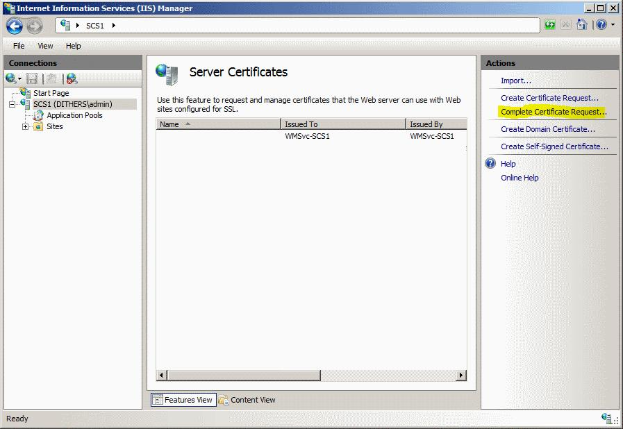 AMT SSL Certificates Enrollment, Collection, Installation and