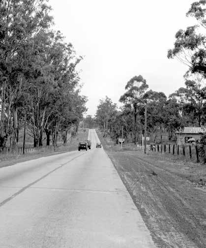 The Old Hume Highway  History begins with a road  Routes, towns and