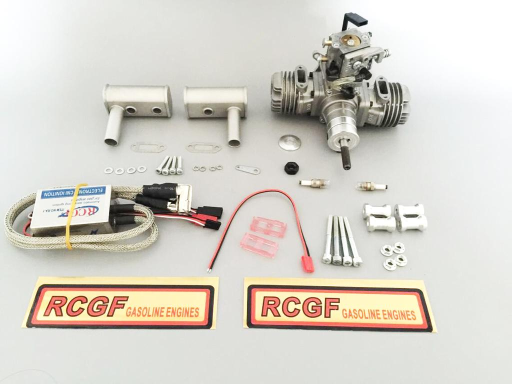 RCGF 21CC-Twin Operator s Manual (note: the spare parts list
