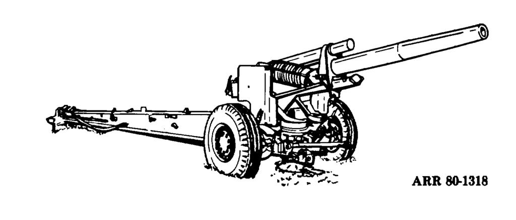 2-9. Development During World War II. a. The period between World War I and II brought about very little in the production of new field artillery weapons.