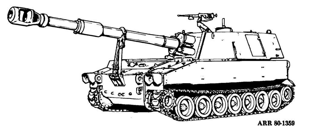 This weapon was also introduced in the early 1960 s and was used in the Vietnam conflict. The M109A1 will eventually replace the M109.
