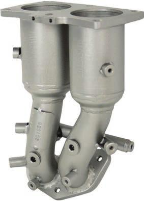 2.4L 201014 PaceSetter Direct-fit Catalytic Converter For Nissan 98-01 Altima