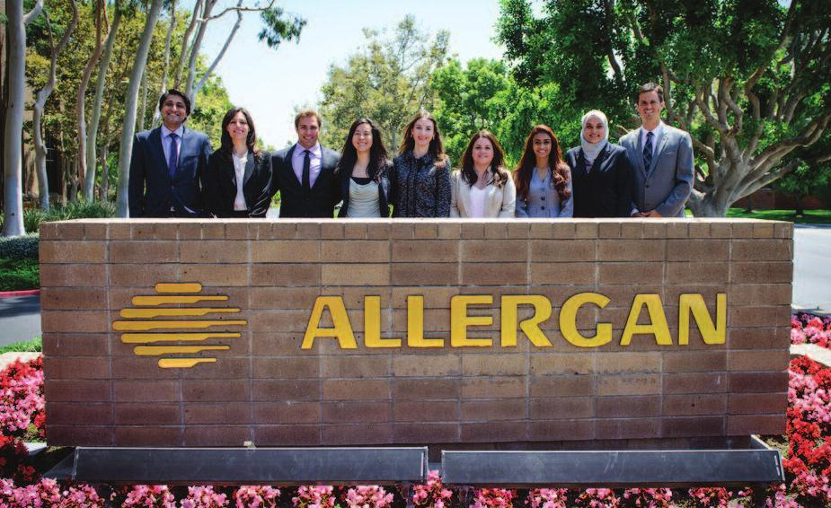 Bringing the Cutting Edge to Allergan while Training our
