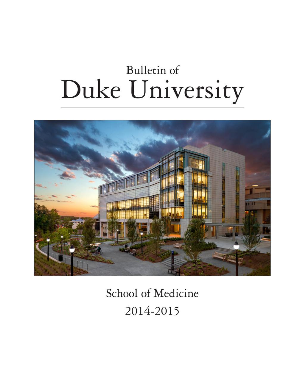 The Mission of Duke University - PDF