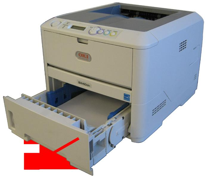 How to remove Jammed Paper - PDF