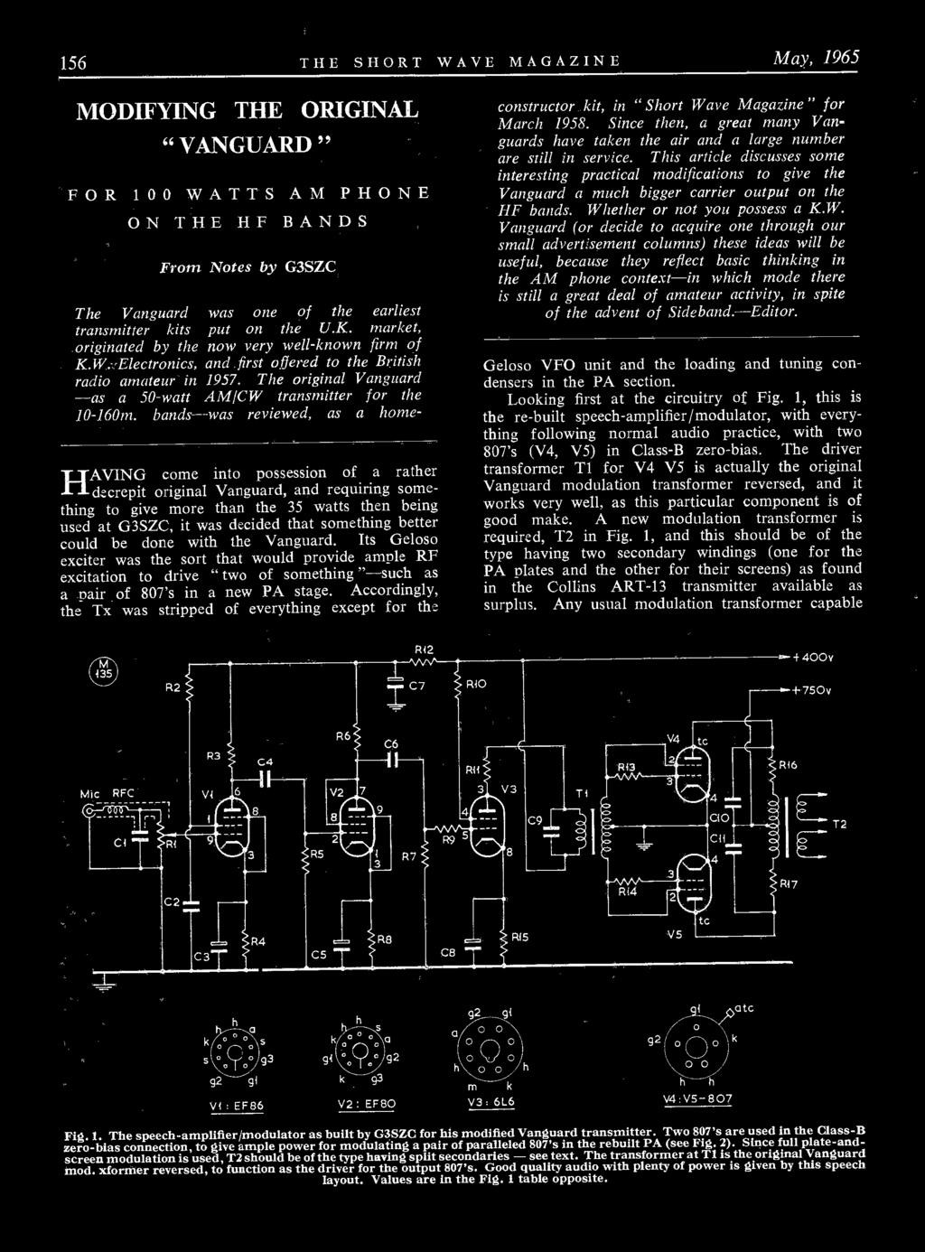 Kw Models For 1965 Ssb Transceiver 600 Linear Amp 2000a Am Cw Ham Bands Transmitter The Uk Market Originated By Now Very Well Known Firm Of