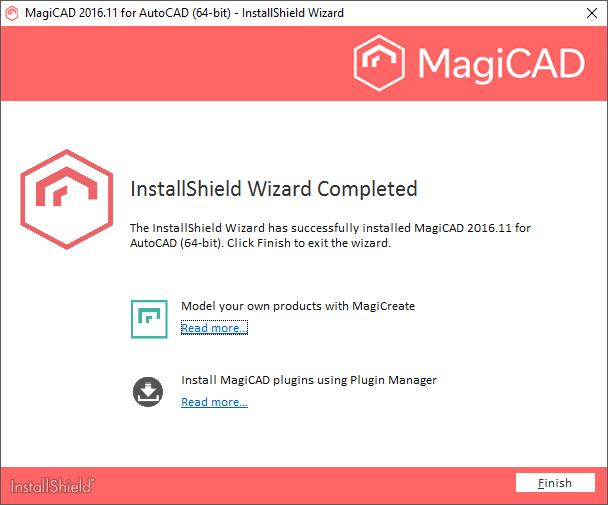Installation Guide MagiCAD for AutoCAD - PDF