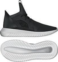 1837828801b Defiant shoes comes in a two-tone Primeknit upper with a comfortable  seamless bootee fit